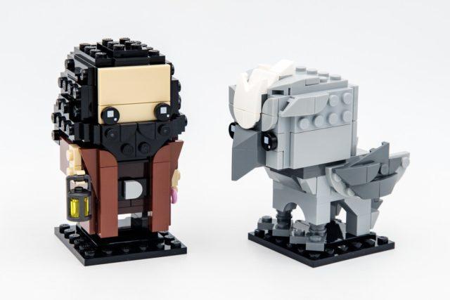 REVIEW LEGO 40412 BrickHeadz Hagrid & Buckbeak
