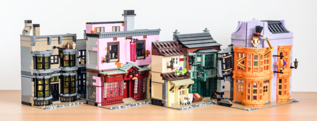 REVIEW LEGO Harry Potter 75978 Diagon AlleyREVIEW LEGO Harry Potter 75978 Diagon Alley