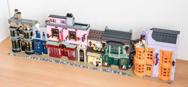 REVIEW LEGO Harry Potter 75978 Diagon Alley
