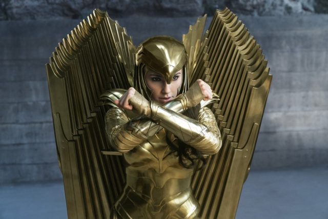 Wonder Woman WW84 Golden Eagle