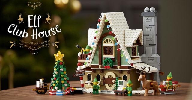 LEGO 10275 Winter Village 2020