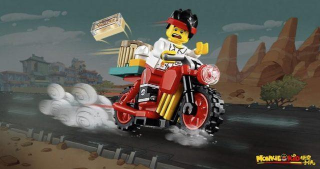 LEGO 30341 Monkie Kid's Delivery Bike
