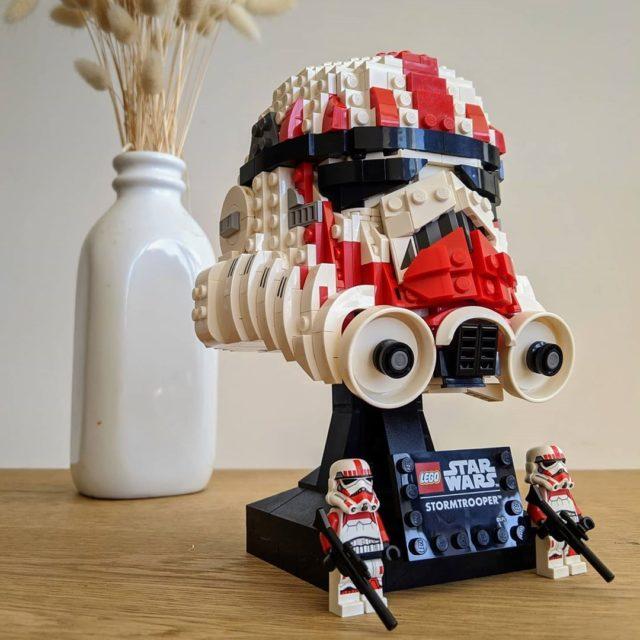 LEGO 75276 mod Shock Trooper Helmet
