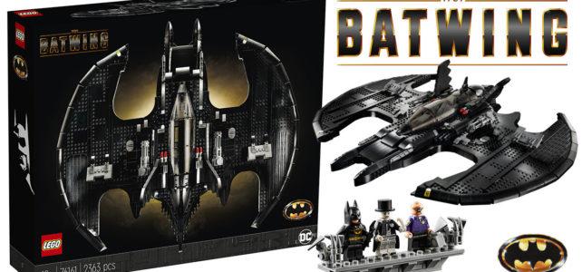 Chez LEGO : le set LEGO DC Comics 76161 1989 Batwing est disponible en avant-première VIP