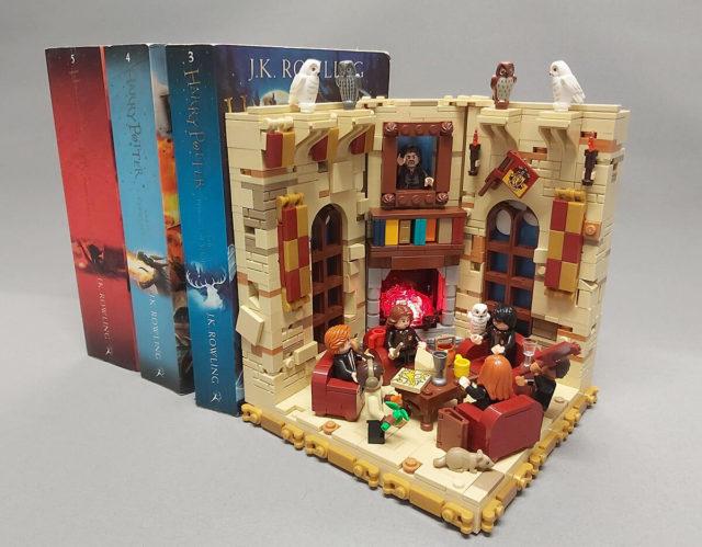 LEGO Harry Potter serre-livres Gryffondor