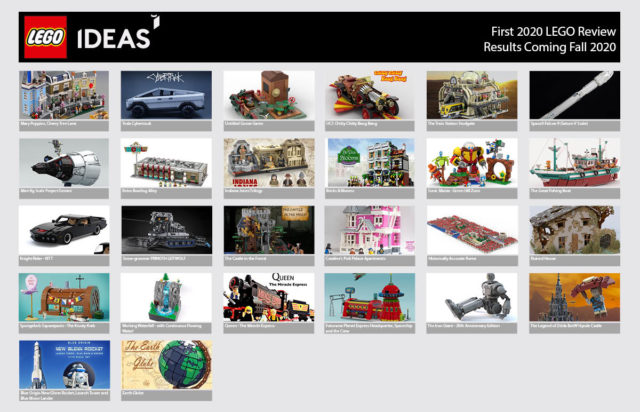 LEGO Ideas 2020 phase 1