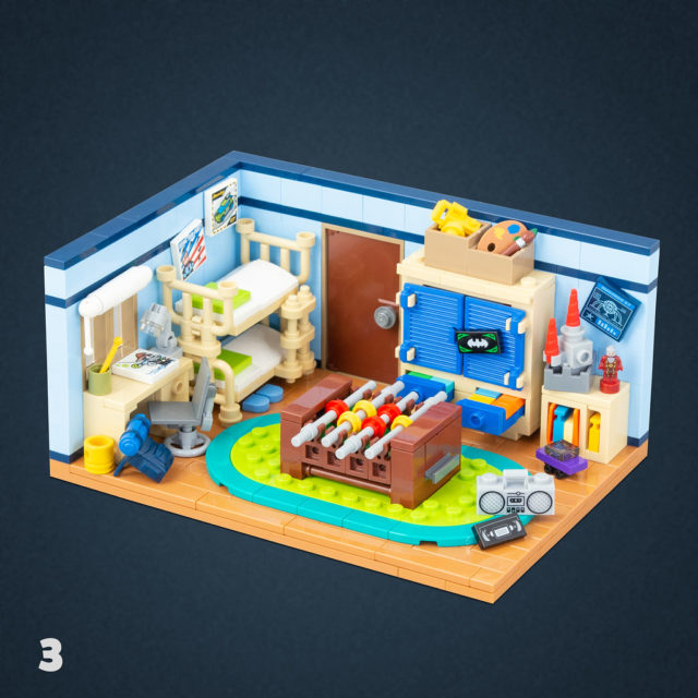 LEGO brickrooms Kids' room