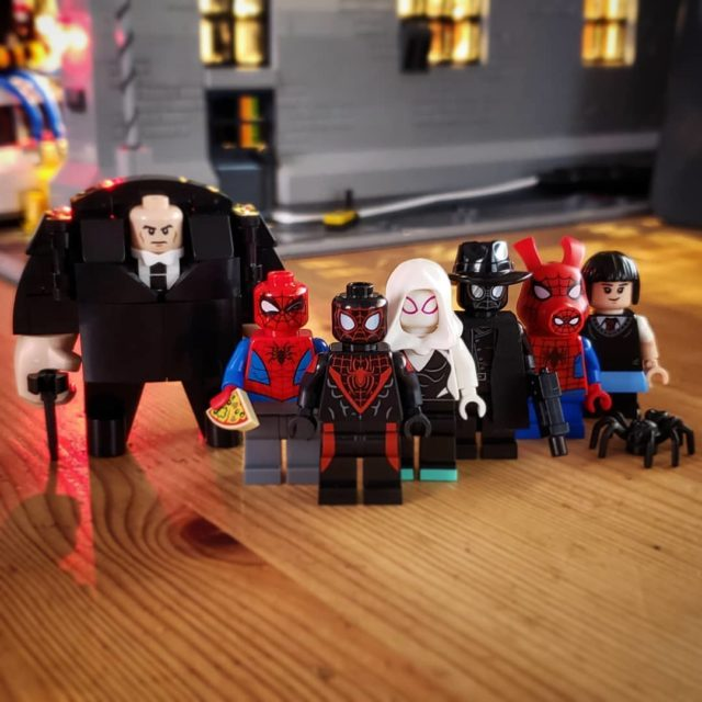 LEGO Spider-Man into the Spider-verse
