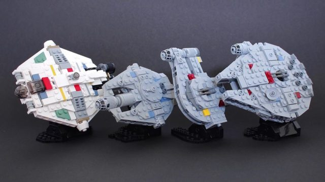 LEGO Star Wars Corellian Rebellion microscale