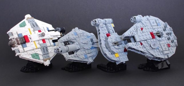 LEGO Star Wars Corellian Rebellion microscale