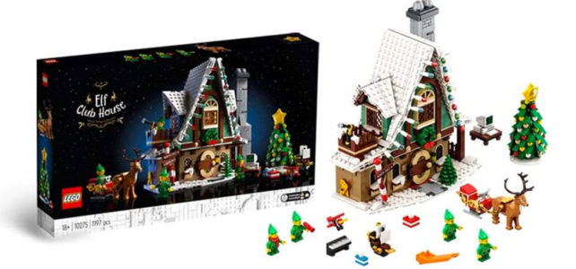 LEGO Winter Village 10275 Elf Club House
