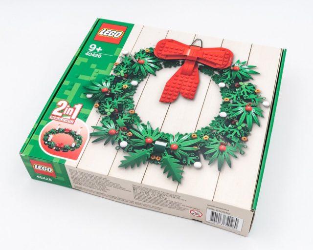 REVIEW LEGO 40426 Christmas Wreath