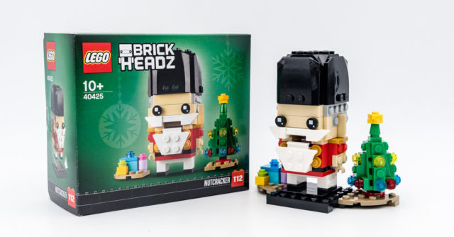 REVIEW LEGO BrickHeadz 40425 Nutcracker