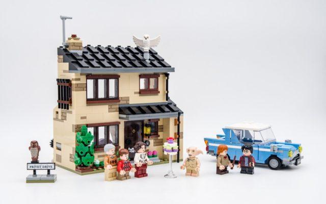 REVIEW LEGO Harry Potter 75968 4 Privet Drive