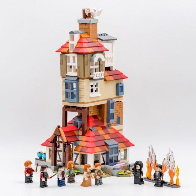 REVIEW LEGO Harry Potter 75980 Attack on the Burrow