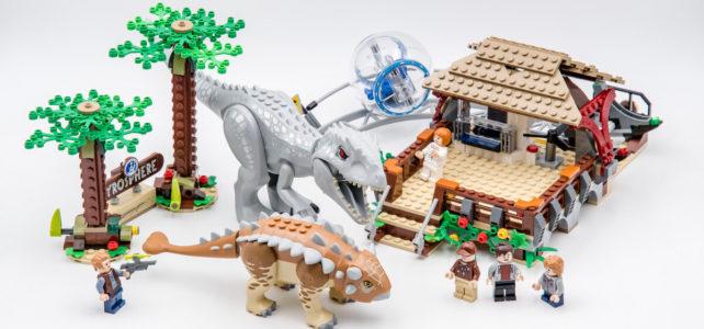 REVIEW LEGO Jurassic World 75941 Indominus Rex vs. Ankylosaurus