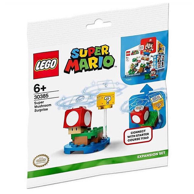 LEGO 30385 Super Mario Mushroom polybag