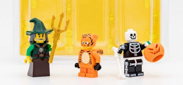 LEGO BAM Halloween minifigures pack