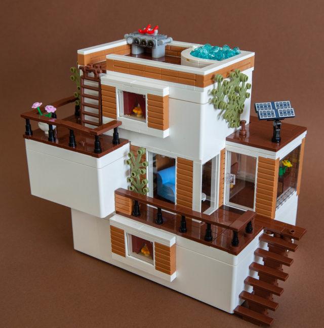 LEGO IKEA BYGGLEK Beach house
