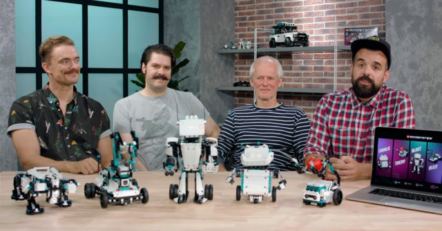 LEGO Mindstorms 51515 designer video