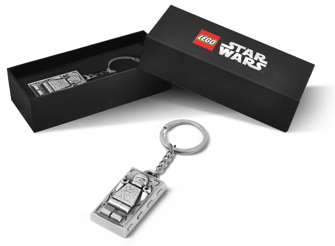LEGO Star Wars 5006363 Han Solo Carbonite Metal Keychain