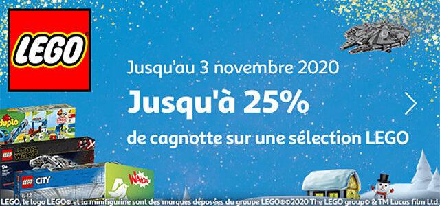 Promo LEGO Auchan 2020