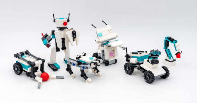 REVIEW LEGO 40413 Mindstorms Mini Robots