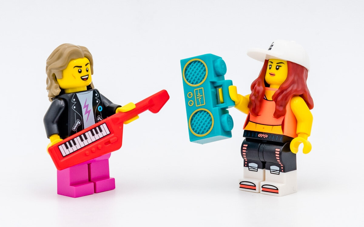 REVIEW LEGO 71027 Collectible Minifigures Series 20