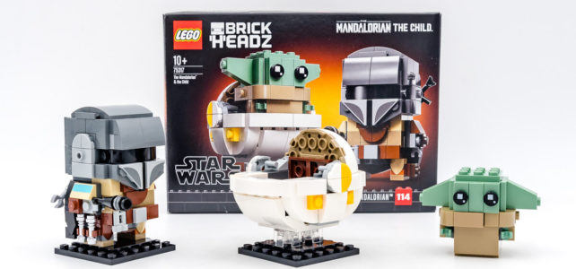 REVIEW LEGO BrickHeadz 75317 The Mandalorian & The Child