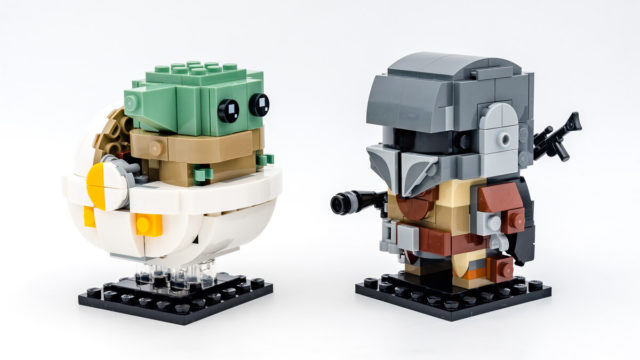 REVIEW LEGO BrickHeadz 75317 The Mandalorian & The Child