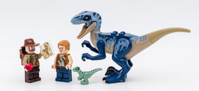 REVIEW LEGO Jurassic World 75942 Velociraptor