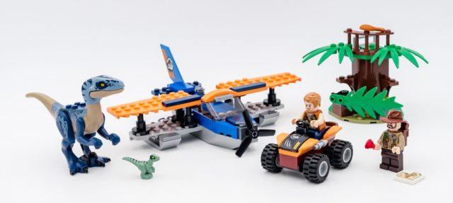 REVIEW LEGO Jurassic World 75942 Velociraptor