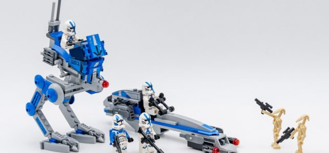 REVIEW LEGO Star Wars 75280 501st Legion Clone Troopers