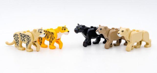 Collection de félins LEGO