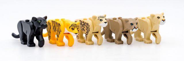 Collection félins LEGO