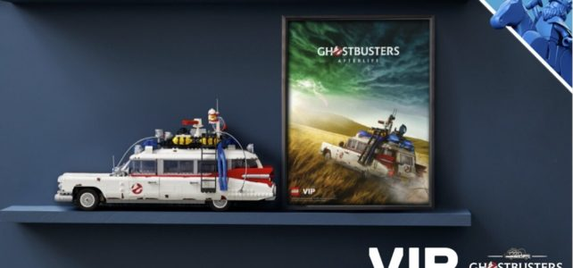 LEGO 10274 Ghostbusters Ecto-1 VIP