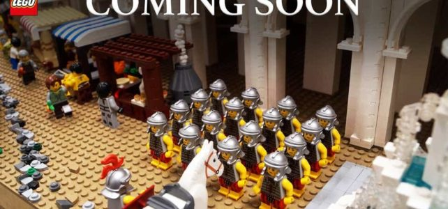 LEGO 10276 Colosseum teasing