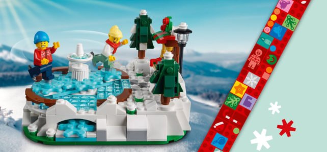 LEGO 40416 Ice Skating Rink
