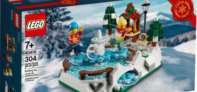 LEGO 40416 Ice Skating Ring