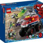 LEGO 76174Spider-Man's Monster Truck vs. Mysterio