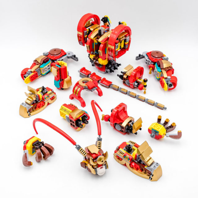 REVIEW LEGO Monkie Kid 80012 Monkey King Warrior Mech