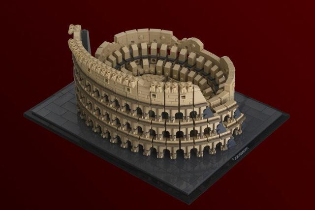 LEGO Architecture Colisee MOC
