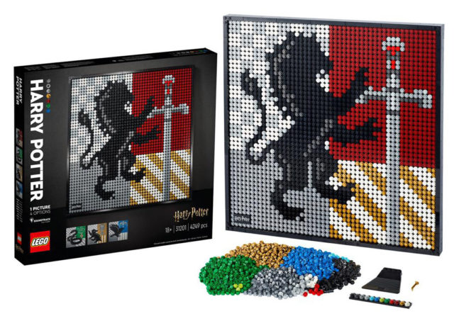 LEGO Art 31201 Harry Potter Hogwarts