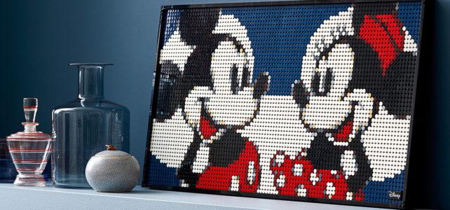 LEGO Art 31202 Mickey Minnie Mouse