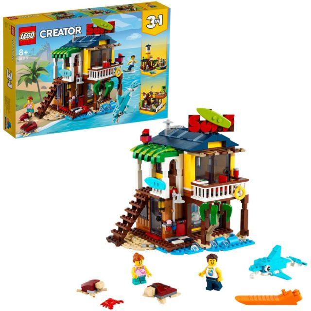LEGO Creator 31116 Safari Wildlife Treehouse