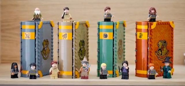 LEGO Harry Potter 2021 books