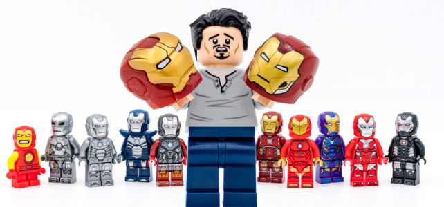 LEGO Iron Man 2020 casque
