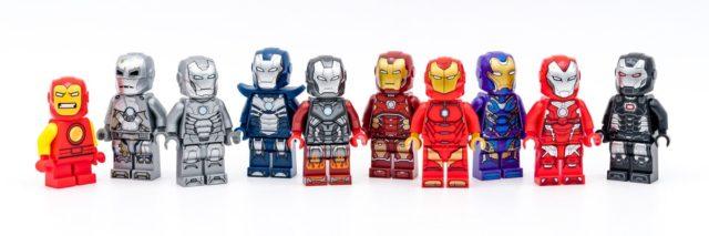 LEGO Marvel Iron Man suits