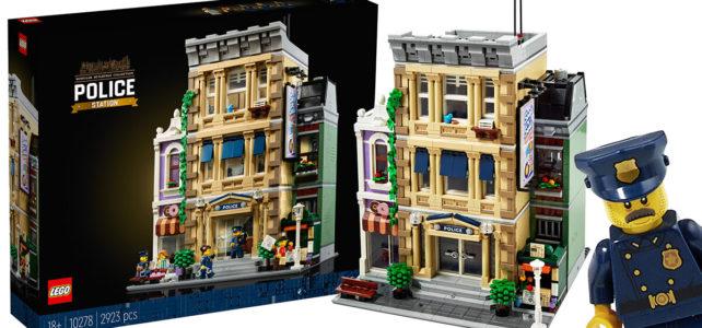 LEGO Modular 2021 10278 Police Station