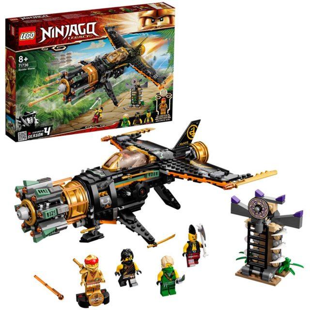LEGO Ninjago 71736 Cole's Boulder Blaster